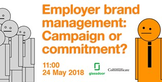 Webinar - Employer brand management: Campaign or commitment?